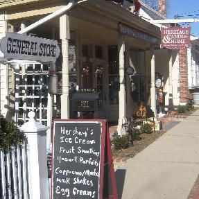 Quaint North Shore villages on Long Island. Great downtown shops and boutiques. Pictured: Cold Spring Harbor.