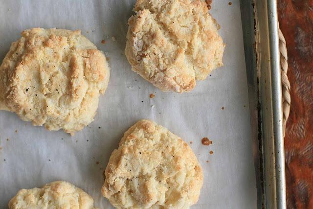 Pear And Cheddar Scones Recipe — Dishmaps