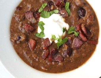 black bean pumpkin soup | food for my hips | Pinterest