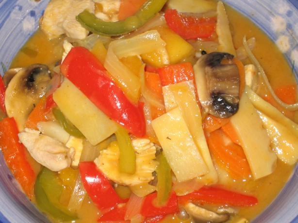 Chicken and Mango Curry from Food.com: I haven't made this yet but it ...