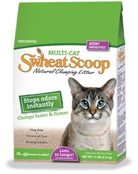 Less Dusty Cat Litter