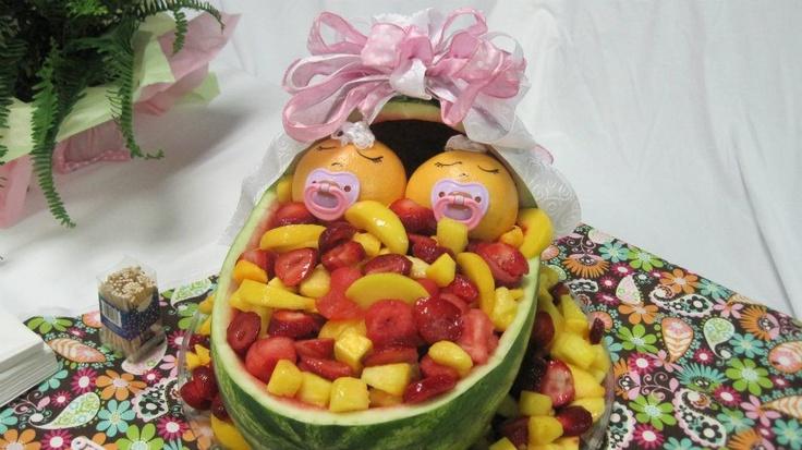 baby shower fruit basket baby shower for tiff case pinterest