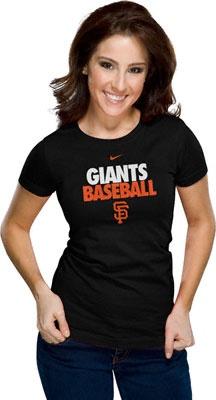MLB Women's Nike Dri-FIT T-Shirts -  San Francisco Giants.../