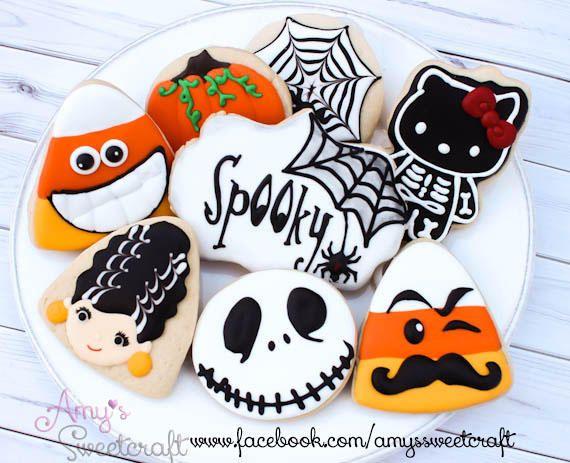 halloween cookies video