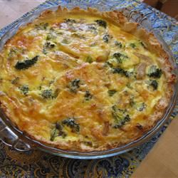 Broccoli Quiche with Mashed Potato Crust | The Most Important Meal Of ...