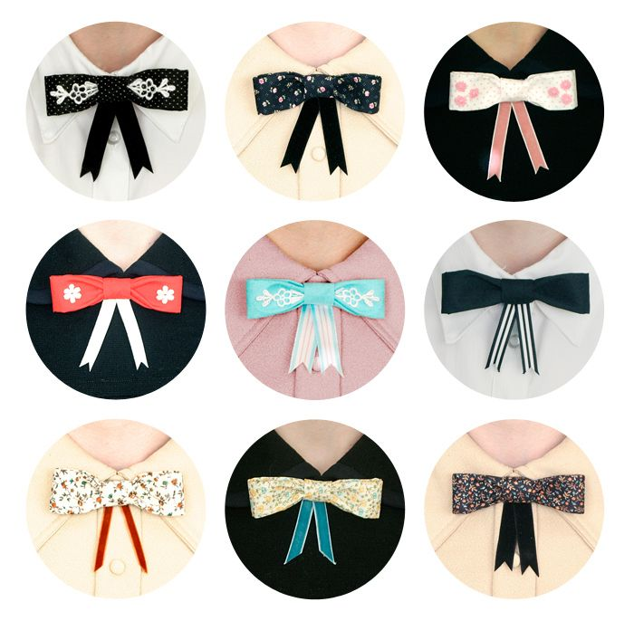 Flappergirl is introducing these amazing new Bijou Ties!