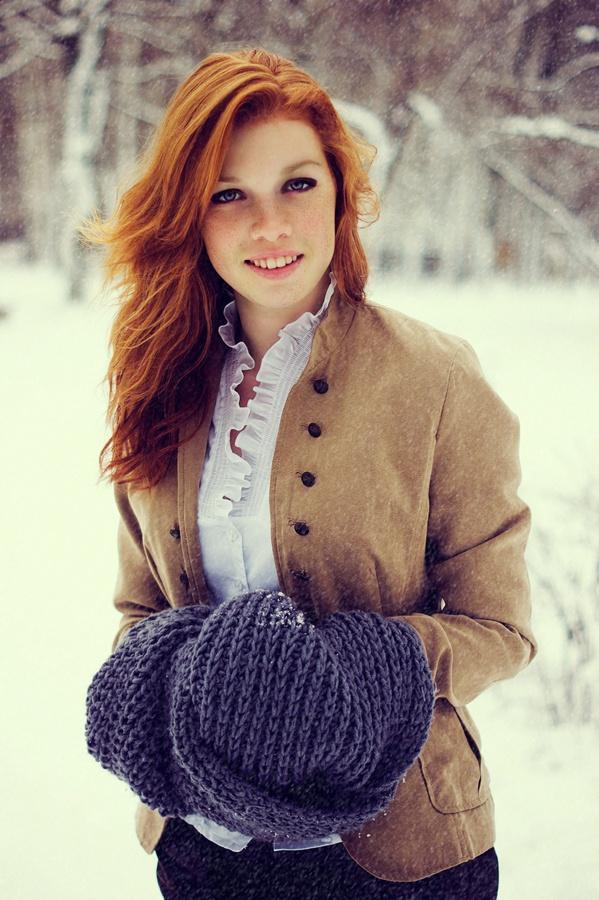 Sexy amateur mature redhead