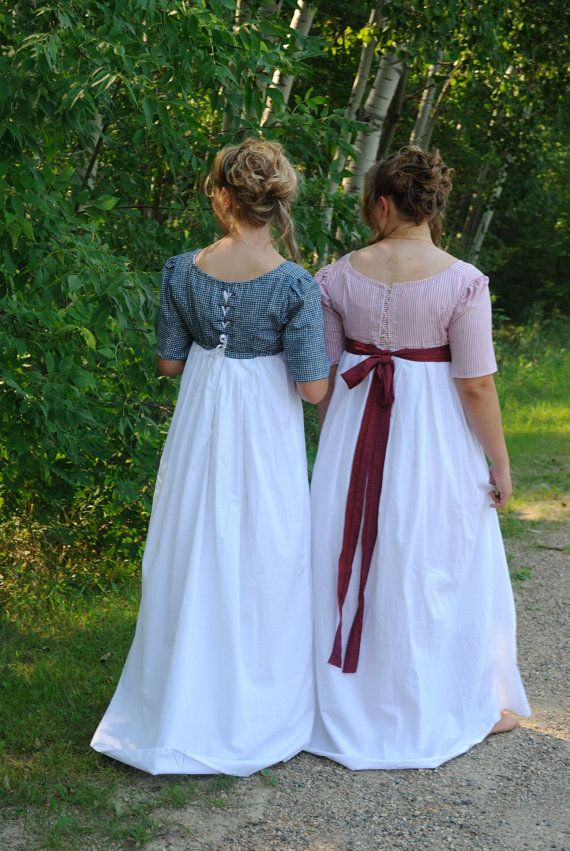 Regency Jane Austen Day Tea Dress Spencer Jacket In Navy