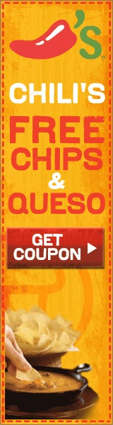 Chili's free queso coupon october 2018
