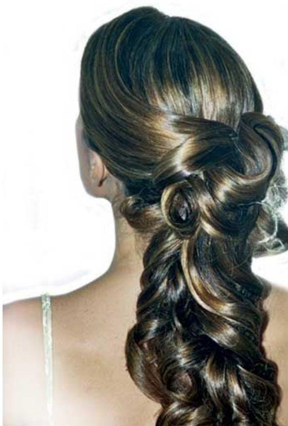 Peinados para fiestas noche my style pinterest - Peinados de fiesta ...