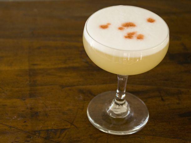 Meyer Lemon Pisco Sour from Serious Eats. http://punchfork.com/recipe ...