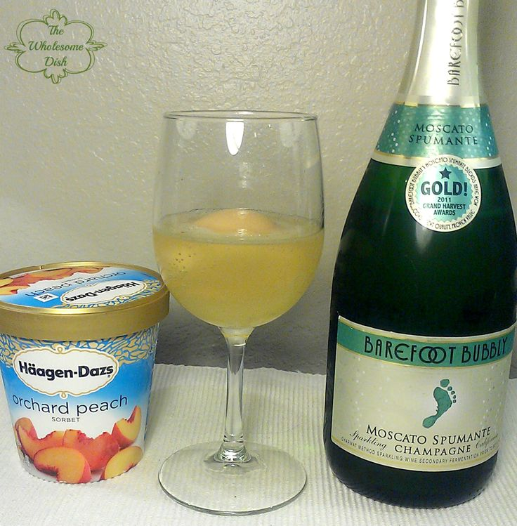 Peach Sorbet and Champagne | Recipe