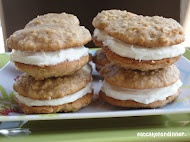 Zucchini Cake Sandwich Cookies with or without frosting - yummy!