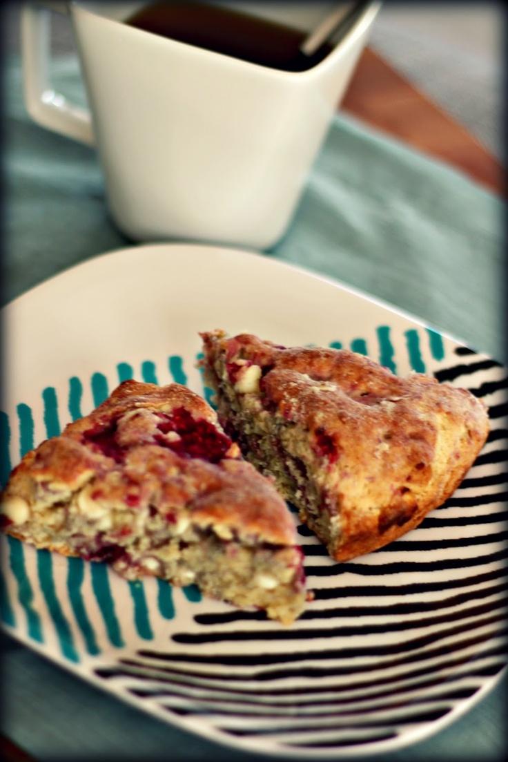 Raspberry & White Chocolate Scones | Favorite Recipes | Pinterest