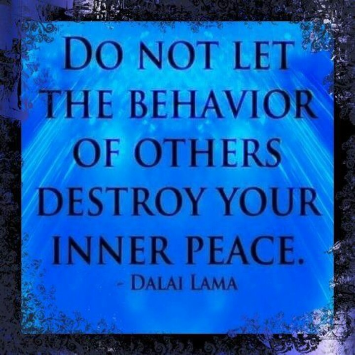 Negativity and Staying Centered 7f3e9b481b8c2afcf73006360ddf88d9