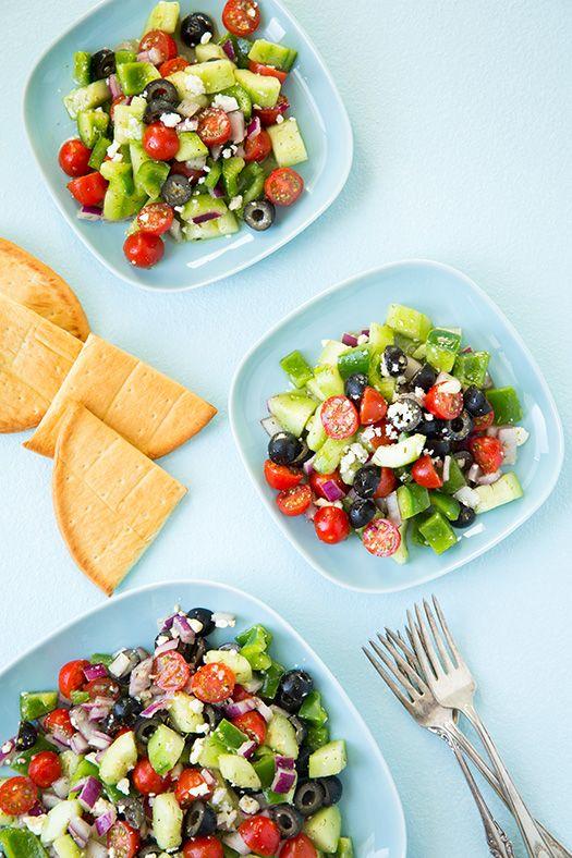 Greek Salad | Recipe
