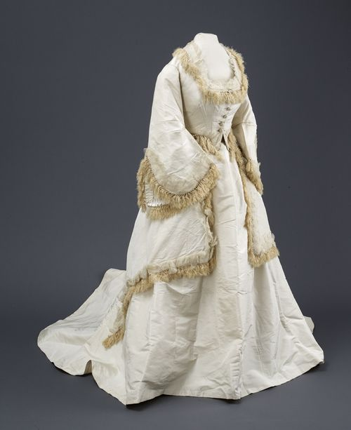 C1860 1869 wedding dress 19th century clothing pinterest for 19th century wedding dresses
