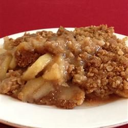 apple crisp with apples from our old tree. (My recipe: Apple Crisp II ...