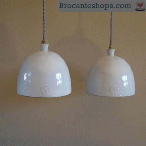 Lamp Stapelgoed Licht witte cloche  Accessoires keuken  Pinterest
