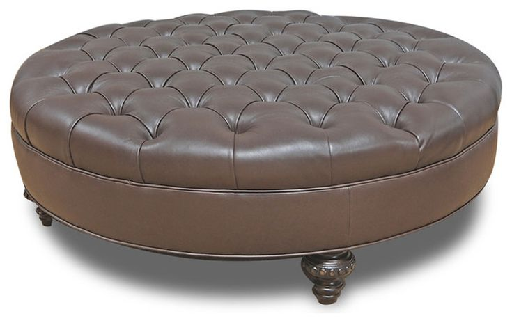 Large Round Ottoman Coffee Table Something For Home Pinterest