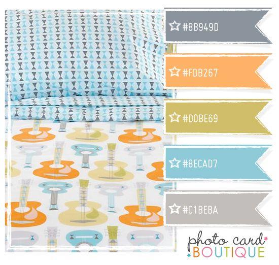 Cool Colors Palette Scrapbooking Pinterest