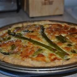 ... Quiche, Breakfast Quiche With Fresh Asparagus, Bacon And Swiss Cheese