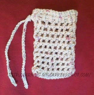 Free Crochet Patterns For Soap Bags : PATTERN CROCHETED SOAP BAGS ? Free Crochet Patterns