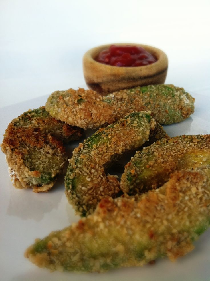 Avocado Fries and a Skinny Sweet-with-Heat Chipotle Dipping Sauce ...