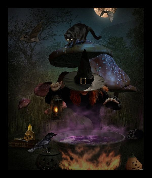 Witches Brew by Wytch1 on deviantART | Wizards And Witches, Magic And ...
