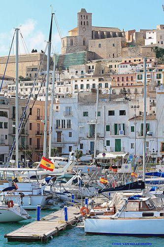 The island of Ibiza, Spain