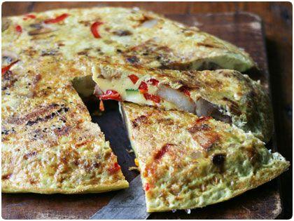 Spanish Frittata | Yummy! | Pinterest
