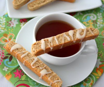 Chai Spice Biscotti (Low Carb and Gluten Free)