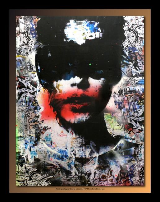 Pin by sashan populorum on art peintures pinterest - Toile acrylique moderne ...