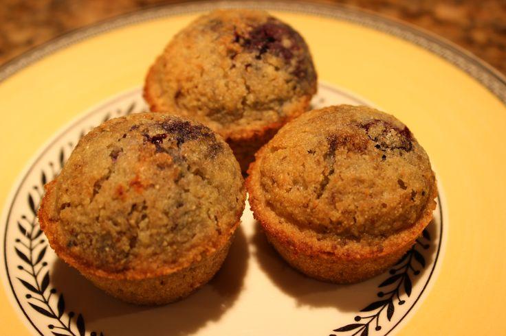 Gluten-Free, Dairy-Free Blueberry Corn Mini Muffins | SharingMom ...