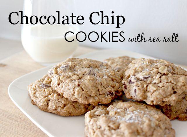 Chocolate Chip + Sea Salt = Magic!