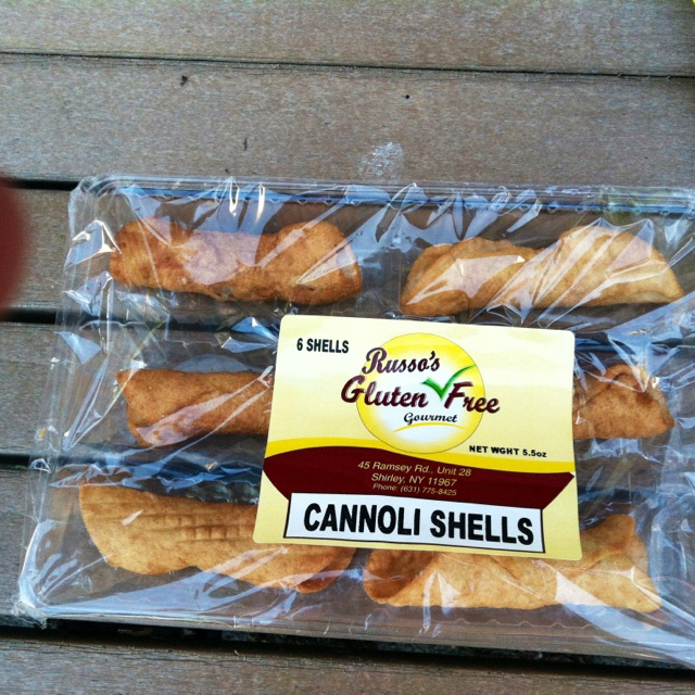 Gluten free cannoli shells! Good find! | Gluten Free | Pinterest