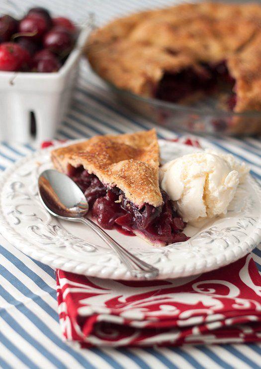 Sweet Cherry Pie | Your Comfort Foods | Pinterest