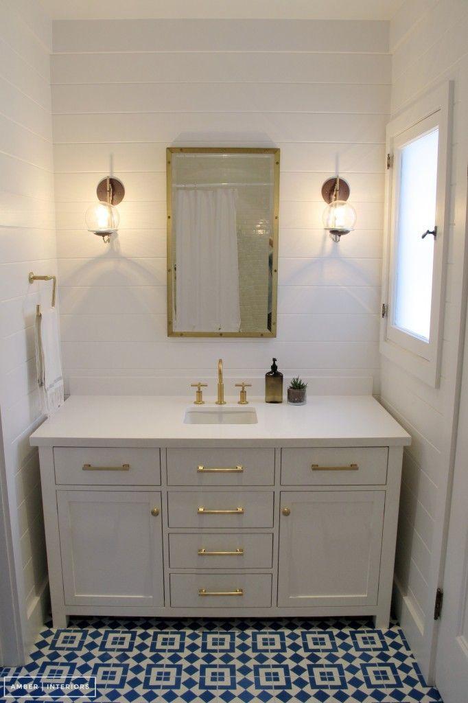 Bathroom Re-do: AMBER INTERIORS