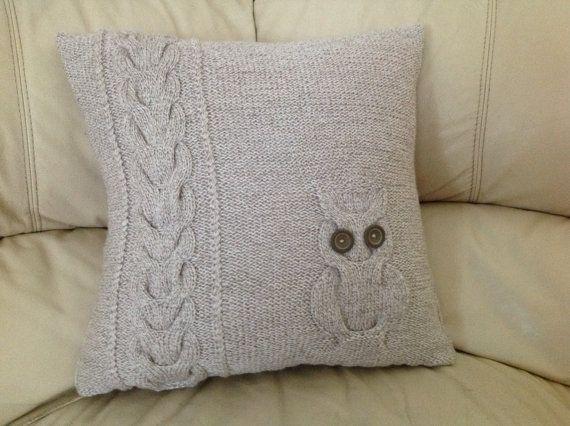 Knit Owl Pillow Pattern6 Knitting Patterns To Celebrate Button Day