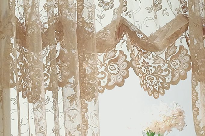 shari lace curtains ivory lace curtain swag valance inserts jcpenney home collection shari