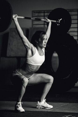 Crossfit girl. She is gorgeous.
