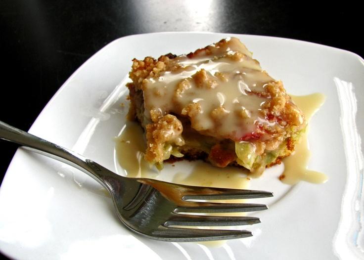 Kismet, Art, and Life: Rhubarb Snack Cake