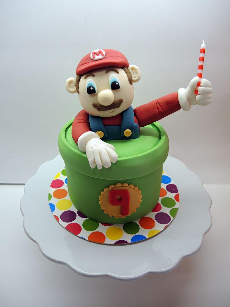 MARIO BROSS CAKE www.facebook.com/aprilscake