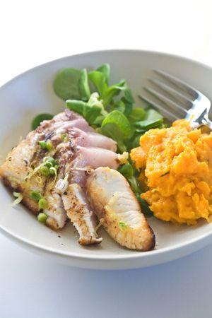 Seared Yellowtail Tuna in Lemon Dressing | Seafood | Pinterest