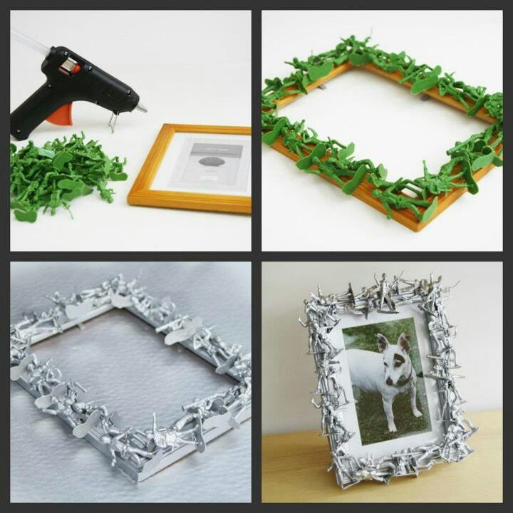 Army Men Picture Frame To Cool Crafts Creative Ideas