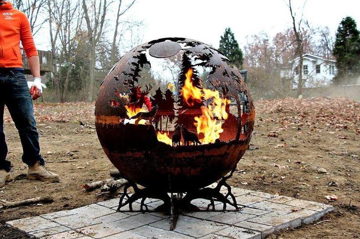 Metal garden art projects view larger craft for Welded garden art designs