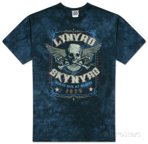 Lynyrd skynyrd gimme back my bullets t shirts at allposters com