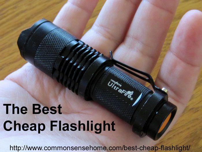 Best cheap flashlight on ebay uk