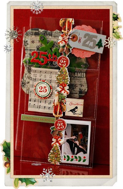 love this dec daily by alissa. it's so ful of fun details