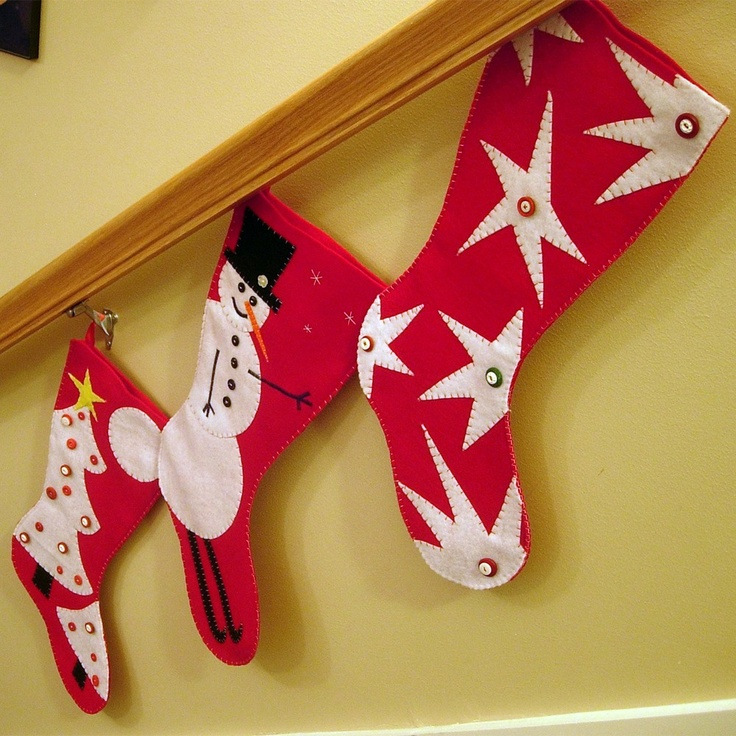 Love these Christmas Stockings